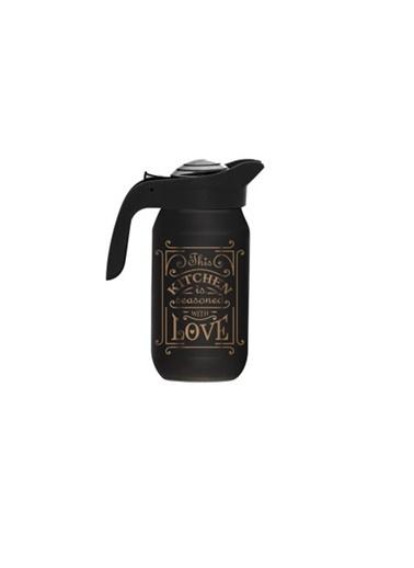 Herevin Herevin 111282-120 Kitchen Love Desenli Sürahi Siyah Siyah